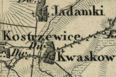 1.-Kwaskow-na-mapie-z-ok.-1850-r.