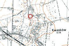3.-Kwaskow-grodek-na-mapie-z-konca-XX-w.