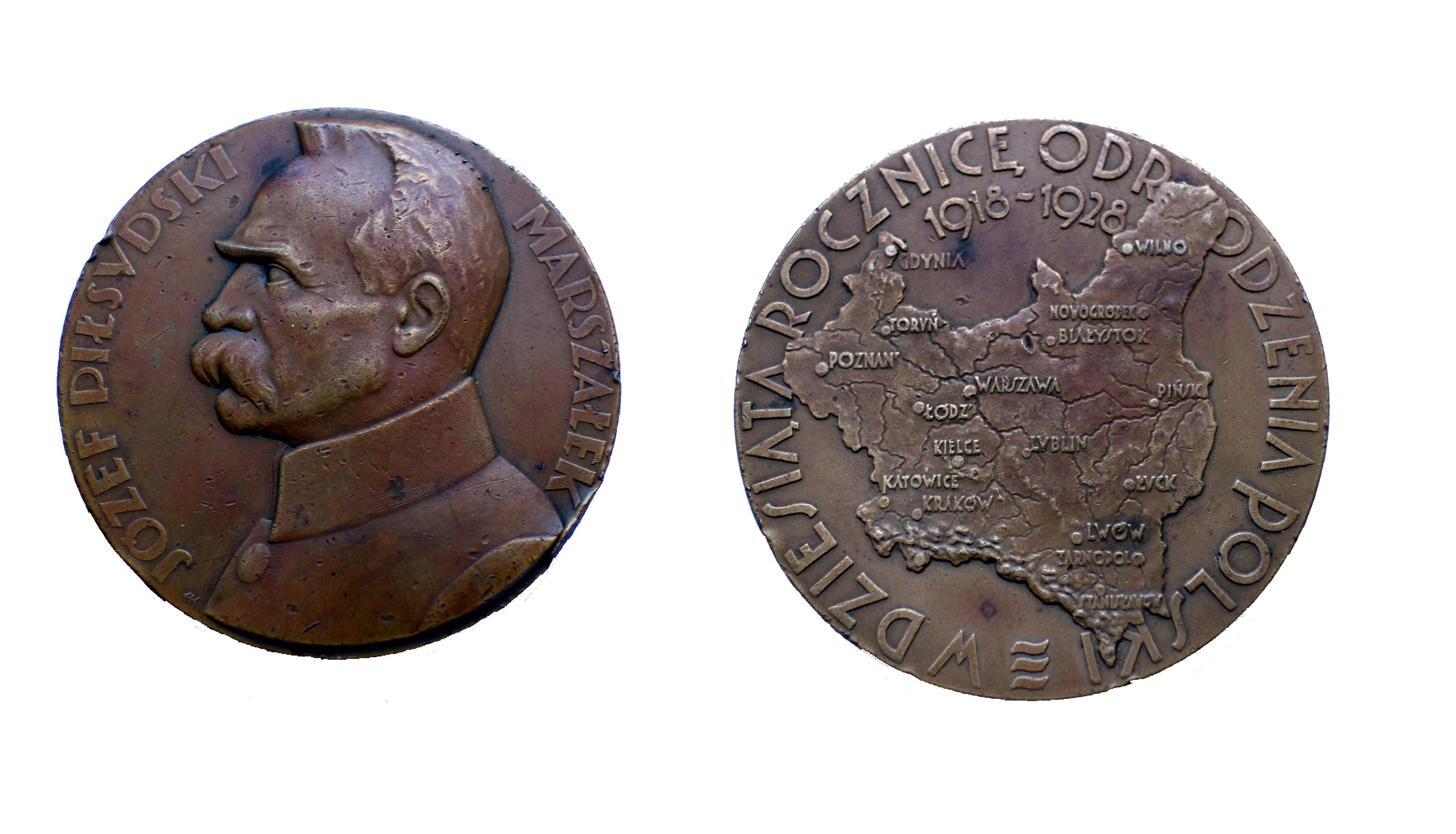 26.-medal-W-DZIESIĄTĄ-ROCZNICE-ODRODZENIA-POLSKI