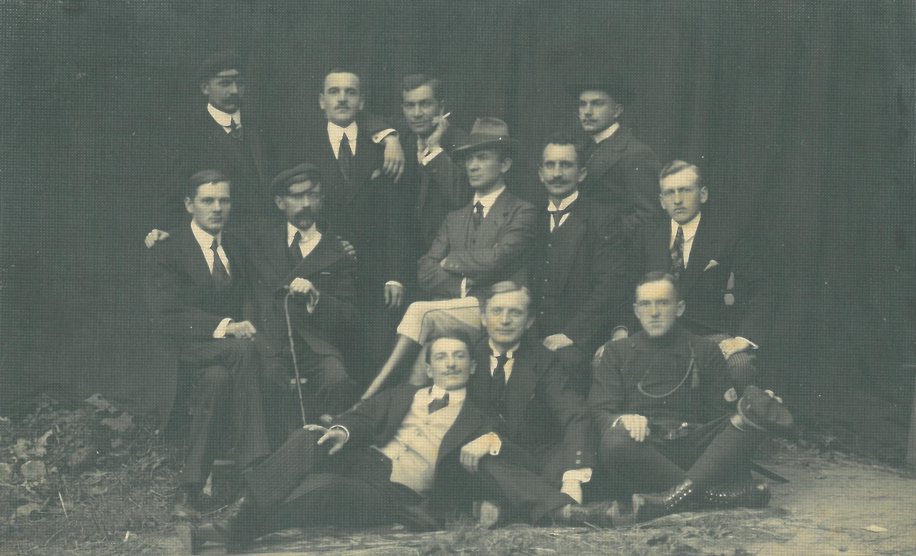 4.-Członkowie-POW-w-Sieradzu-1918-r.