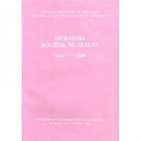 Sieradzki Rocznik Muzealny. Tom 5