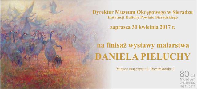 Finisaż wystawy malarstwa Daniela Pieluchy