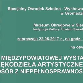 II Międzypowiatowa Wystawa Rękodzieła Artystycznego Osób z Niepełnosprawnością
