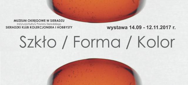 Szkło / Forma / Kolor