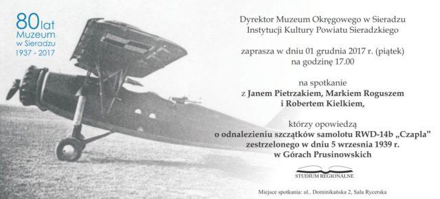"""Poszukiwania szczątków samolotu RWD-14b """"Czapla"""""""