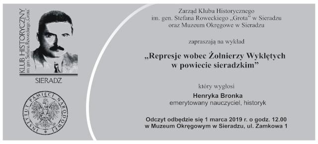 """Spotkanie Klubu Historycznego im. gen. Stefana Roweckiego """"Grota"""" w Sieradzu"""