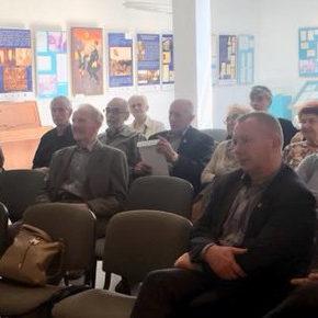 Wykład na temat historii Polskiej Organizacji Wojskowej w regionie sieradzkim