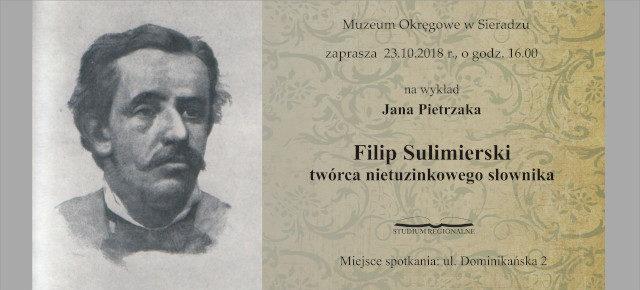 Filip Sulimierski twórca nietuzinkowego słownika