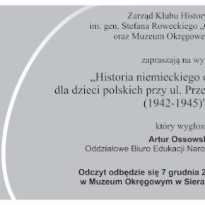 Historia niemieckiego obozu pracy dla dzieci polskich przy ul. Przemysłowej w Łodzi