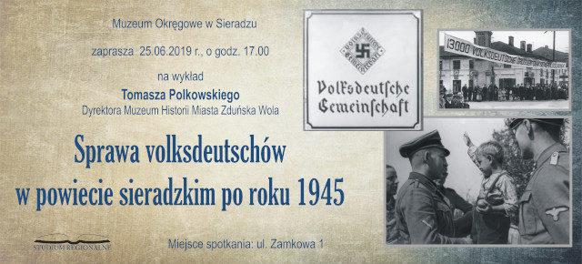 Sprawa volksdeutschów w powiecie sieradzkim po roku 1945