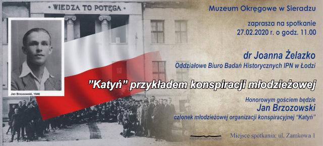 """""""Katyń"""" przykładem konspiracji młodzieżowej"""