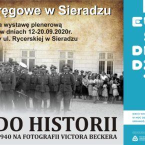 DROGA DO HISTORII - SIERADZ W LATACH 1939-1940 NA FOTOGRAFII VICTORA BECKERA