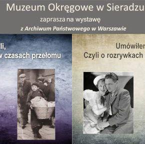 Wystawy z Archiwum Państwowego w Warszawie